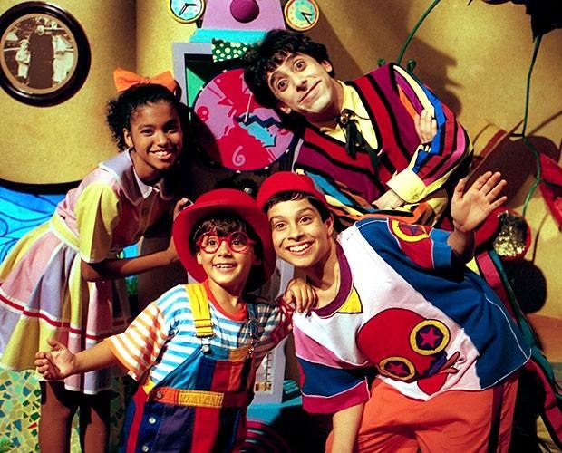 Nino, Biba, Pedro e Zeca animavam as tardes da Cultura nos anos 90