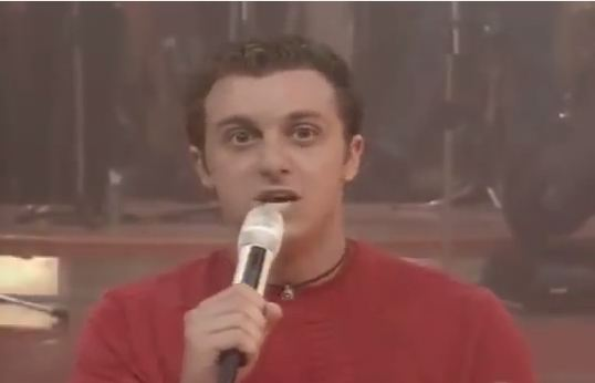 Luciano Huck no ano de 2000