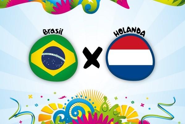 brasil e holanda