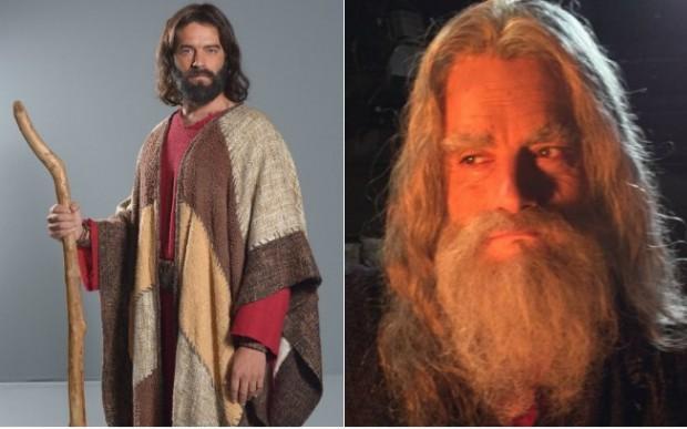 Próxima fase da novela, Moisés estará envelhecido.