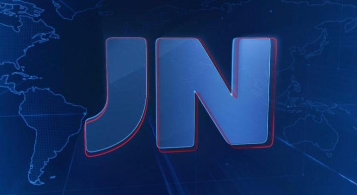 """Atual logo do """"Jornal Nacional"""" (Foto: Reprodução/TV Globo)"""